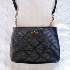 Kate Spade Emerson Place Harbor Black Leather Purs
